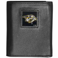 Nashville Predators Leather Tri-fold Wallet