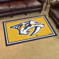 Nashville Predators Logo 4' x 6' Area Rug