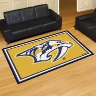 Nashville Predators Logo 5' x 8' Area Rug