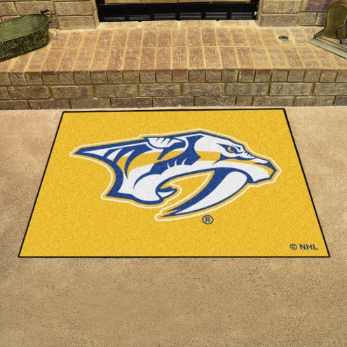 Nashville Predators Logo All-Star Mat