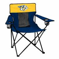 Nashville Predators Elite Tailgating Chair