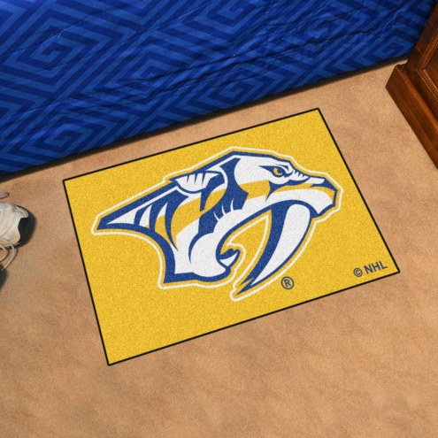 Nashville Predators Logo Starter Rug