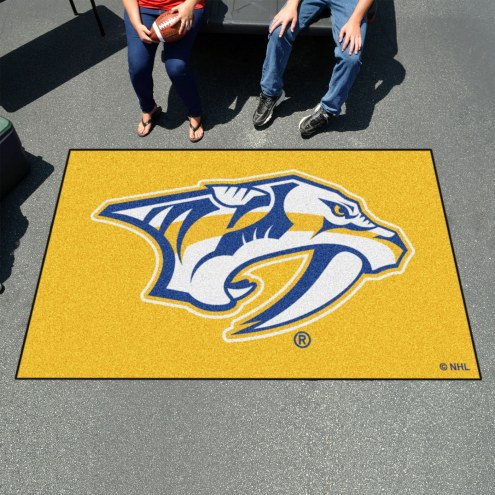 Nashville Predators Logo Ulti-Mat Area Rug