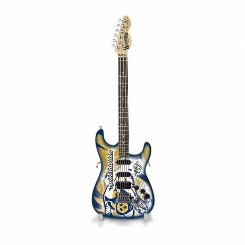 Nashville Predators Mini Collectible Guitar