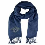 Nashville Predators Navy Pashi Fan Scarf