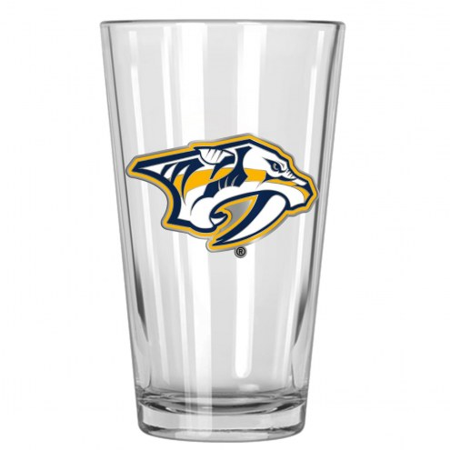 Nashville Predators NHL Pint Glass - Set of 2