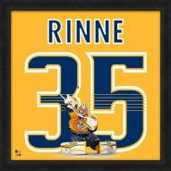 Nashville Predators Pekka Rinne Uniframe Framed Jersey Photo