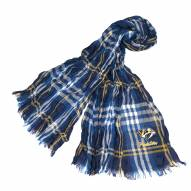 Nashville Predators Plaid Crinkle Scarf