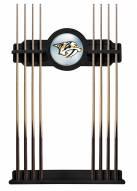 Nashville Predators Pool Cue Rack
