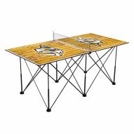 Nashville Predators Pop Up 6' Ping Pong Table