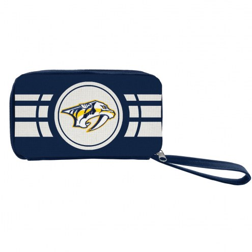 Nashville Predators Ripple Zip Wallet