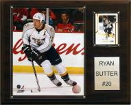 "Nashville Predators Ryan Sutter 12"" x 15"" Player Plaque"
