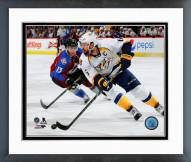 Nashville Predators Shea Weber Action Framed Photo