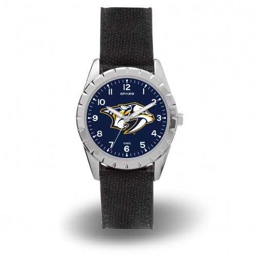 Nashville Predators Sparo Men's Nickel Watch