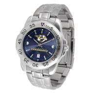 Nashville Predators Sport Steel AnoChrome Men's Watch