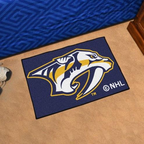 Nashville Predators Starter Rug