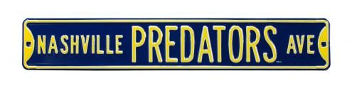 Nashville Predators Street Sign