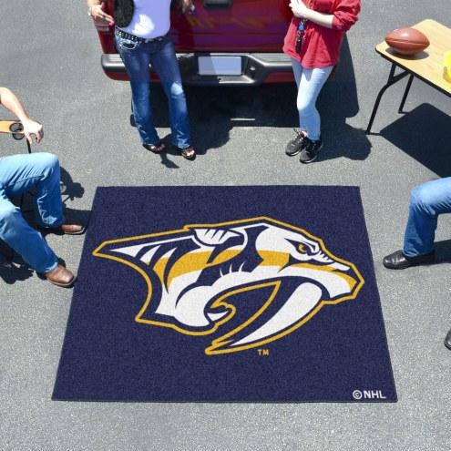 Nashville Predators Tailgate Mat