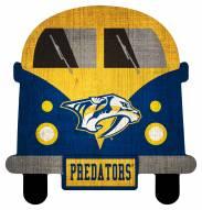 Nashville Predators Team Bus Sign