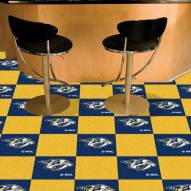 Nashville Predators Team Carpet Tiles