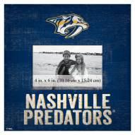 "Nashville Predators Team Name 10"" x 10"" Picture Frame"