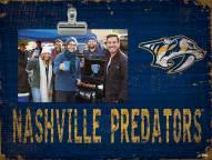 Nashville Predators Team Name Clip Frame