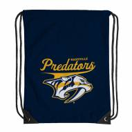 Nashville Predators Team Spirit Backsack