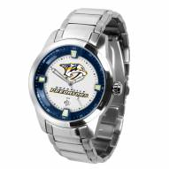 Nashville Predators Titan Steel Men's Watch
