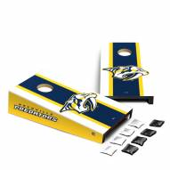 Nashville Predators Mini Cornhole Set