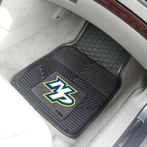 Nashville Predators Vinyl 2-Piece Car Floor Mats