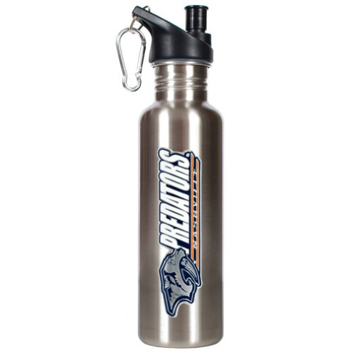 Nashville Predators 26 oz. Water Bottle with Pop-Up Spout