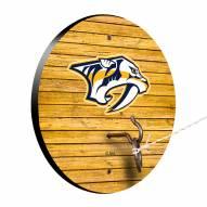Nashville Predators Weathered Design Hook & Ring Game
