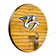 Nashville Predators Weathered Design Hook & Ring Game