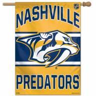 """Nashville Predators 28"""" x 40"""" Banner"""