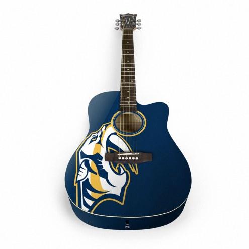 Nashville Predators Woodrow Acoustic Guitar