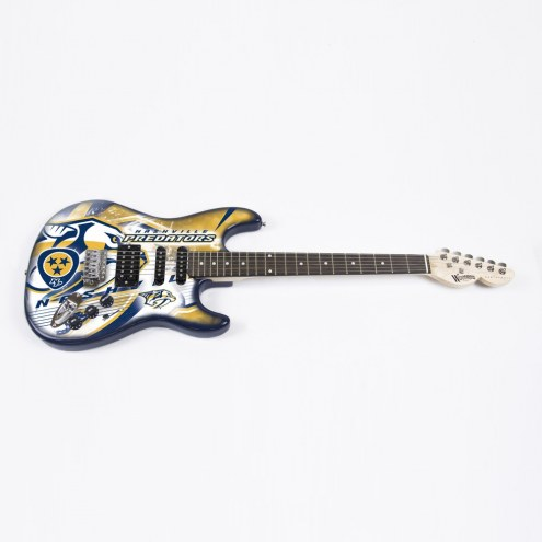 Nashville Predators Woodrow Northender Electric Guitar