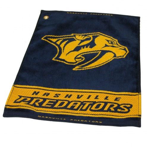 Nashville Predators Woven Golf Towel