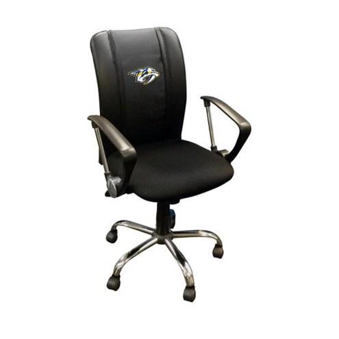 Nashville Predators XZipit Curve Desk Chair