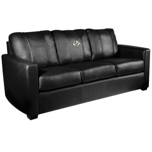 Nashville Predators XZipit Silver Sofa