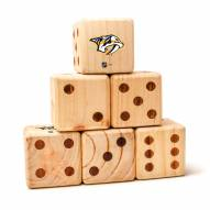Nashville Predators Yard Dice