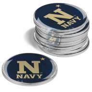 Navy Midshipmen 12-Pack Golf Ball Markers