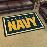 Navy Midshipmen 4' x 6' Area Rug