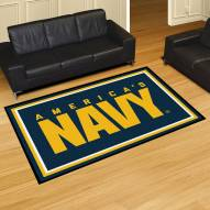 Navy Midshipmen 5' x 8' Area Rug