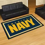 Navy Midshipmen 5' x 8' Area Rug