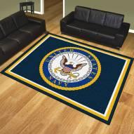 Navy Midshipmen 8' x 10' Area Rug