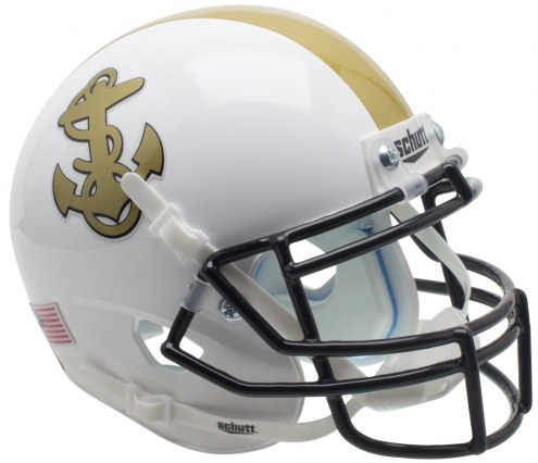 Navy Midshipmen Alternate 1 Schutt XP Authentic Full Size Football Helmet