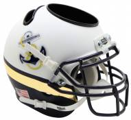 Navy Midshipmen Alternate 2 Schutt Football Helmet Desk Caddy