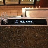 Navy Midshipmen Bar Mat