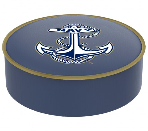 Navy Midshipmen Bar Stool Seat Cover