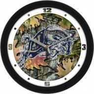 Navy Midshipmen Camo Wall Clock